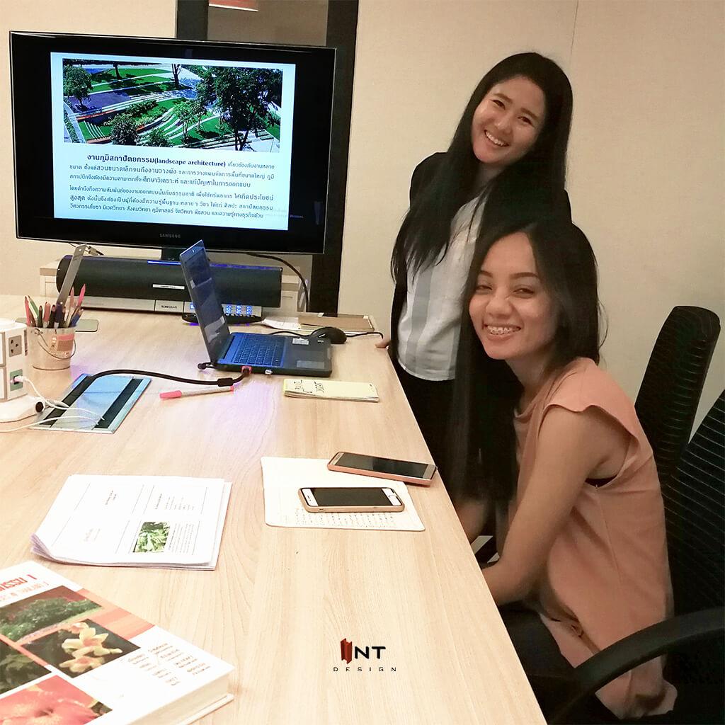 รูปคลาสเรียน landscape design-เรียน garden design-เรียนจัดสวน-เรียนภูมิสถาปัตย์-เรียนออกแบบภายนอก