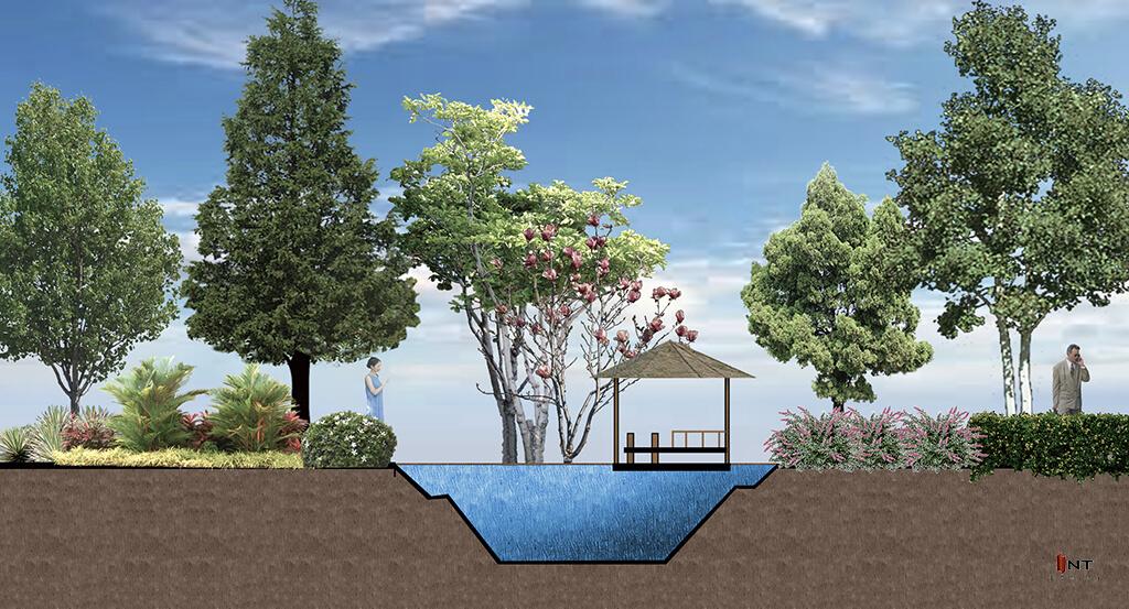 รูปคลาสเรียน landscape design-เรียน garden design-เรียนจัดสวน