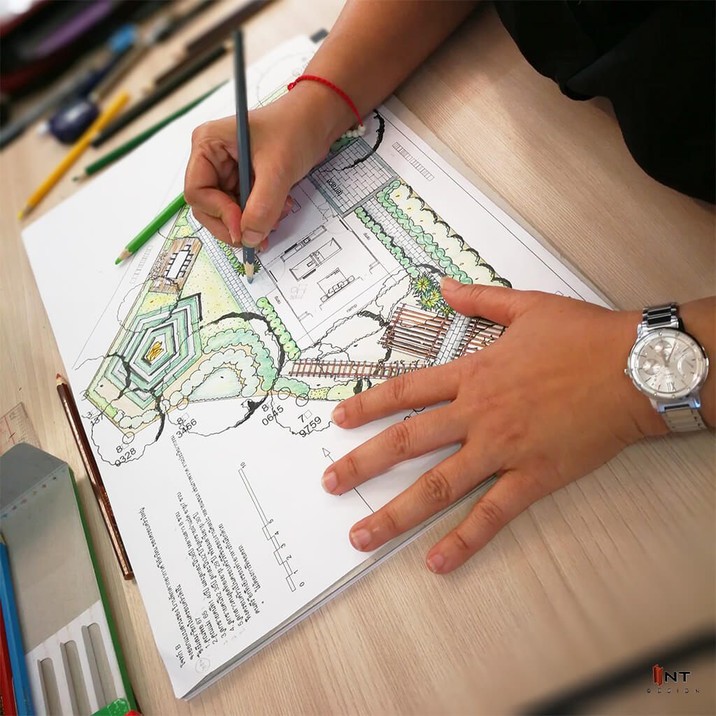 รูปคลาสเรียน landscape design-garden design-เรียนจัดสวน-เรียนออกแบบภูมิทัศน์-เรียนภูมิสถาปัตย์-เรียนออกแบบภายนอก-1