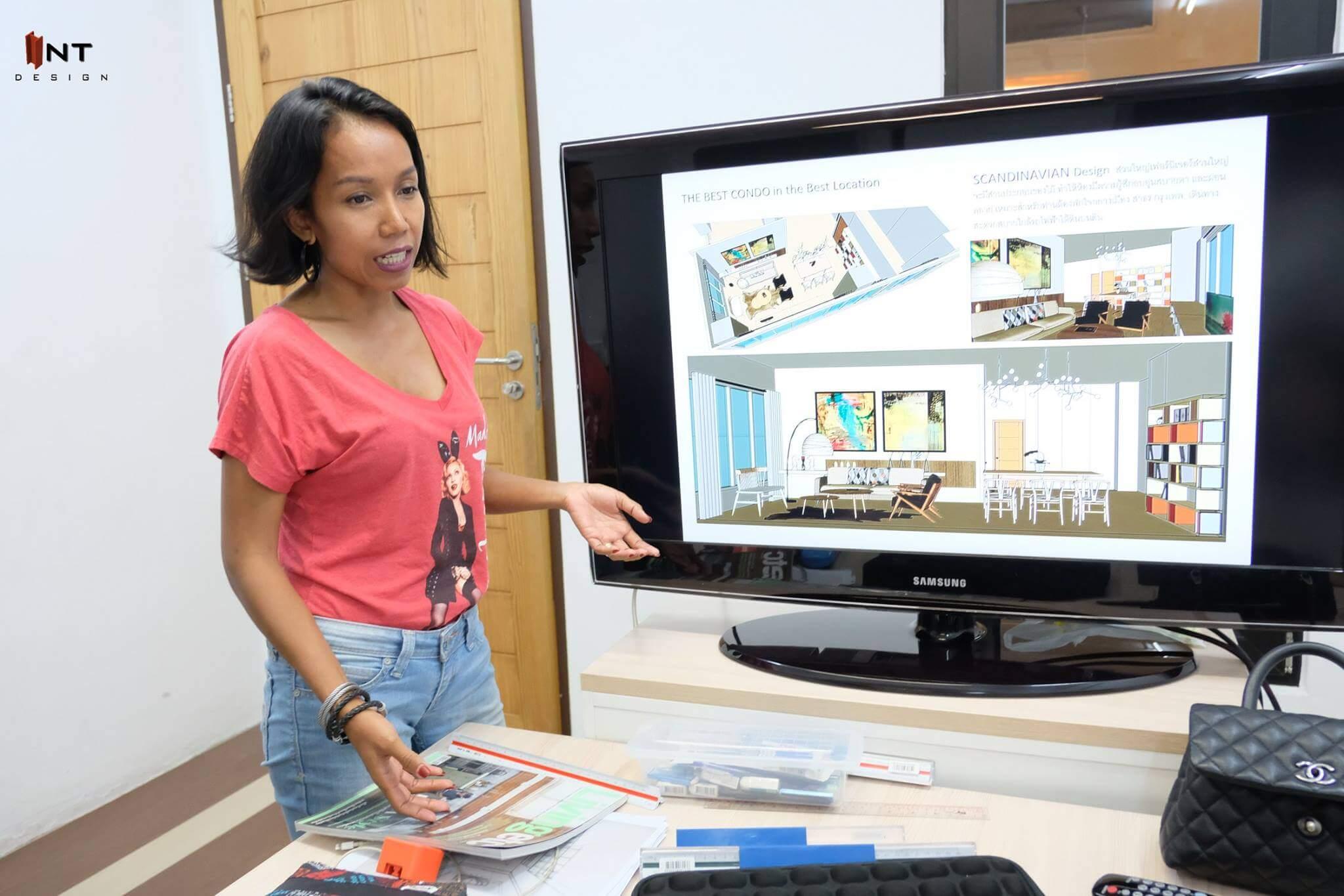 เรียนออกแบบภายในระยะสั้น-เรียน interior design