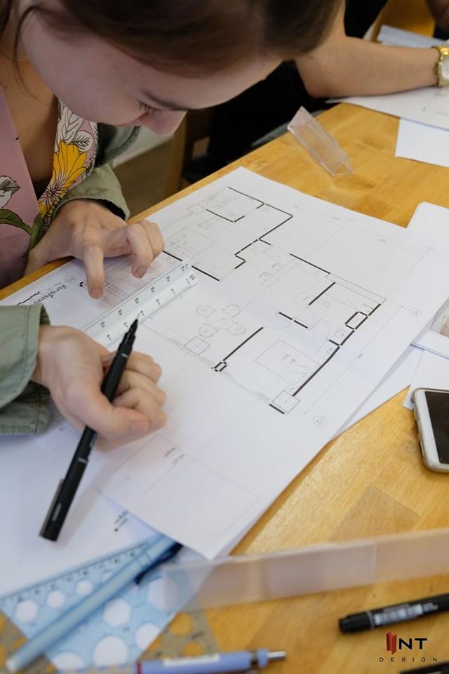 เรียนออกแบบตกแต่งภายในระยะสั้น