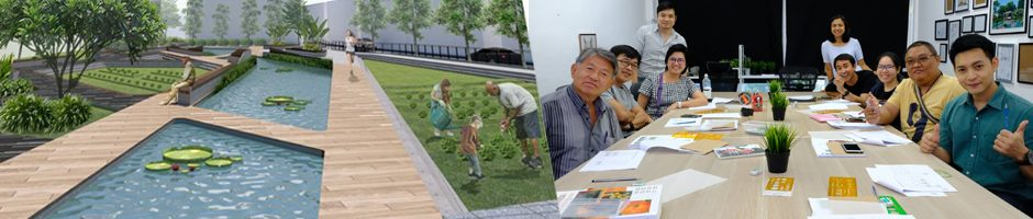 Landscape & Garden Design Class Photos รูปคลาสเรียน ออกแบบจัดสวน ออกแบบภูมิทัศน์